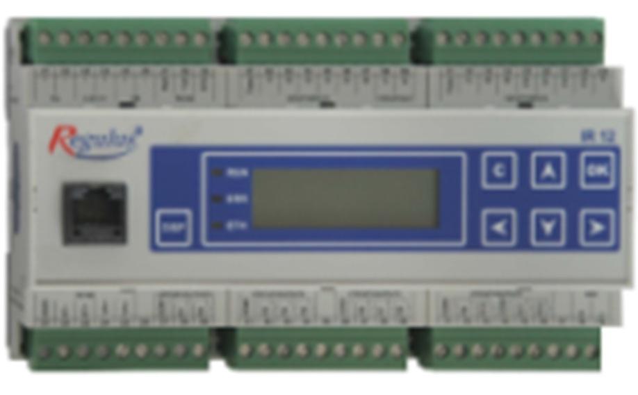 Regulátor IR 12 topného systému a tepelného čerpadla CTC