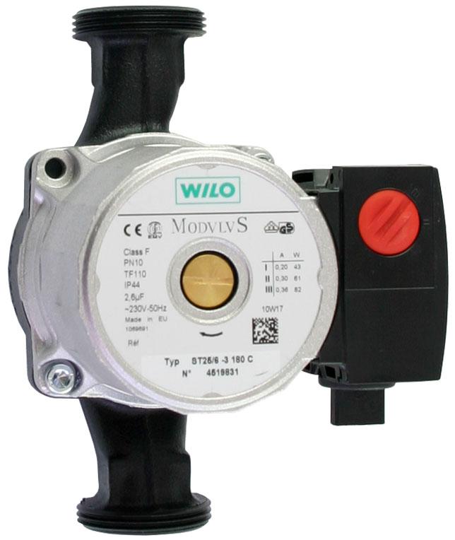 Čerpadlo WILO ST 25/6 - 180X , oběhové čerpadlo pro solární systémy, 2