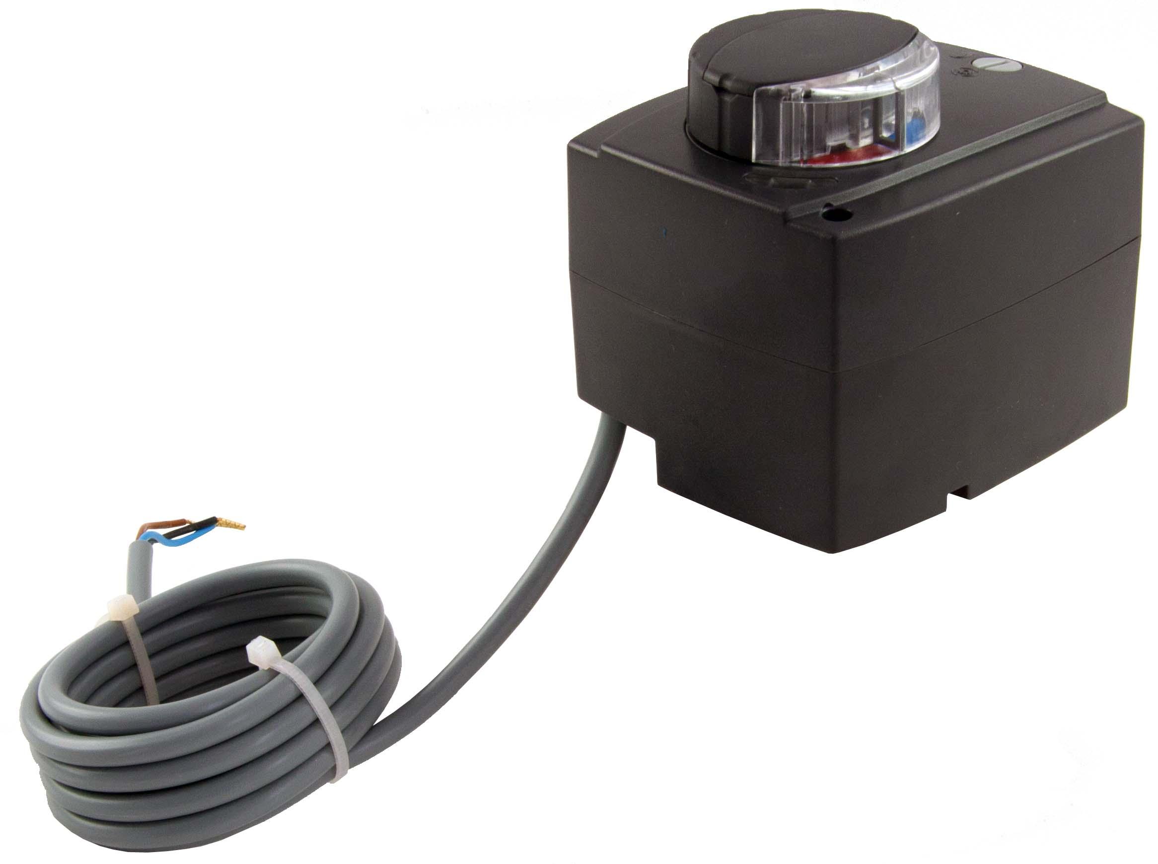Pohon 24V AC/DC pro směšovací ventil, 60-120 s, s řízením 0-10V