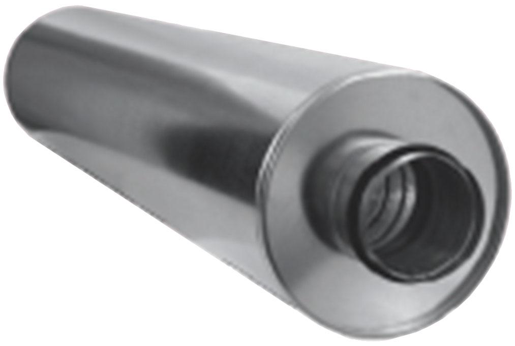 Tlumič hluku kruhový 125mm, délka 0,5 m
