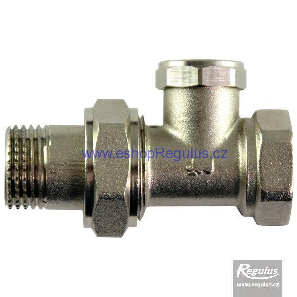 Radiátorový ventil regulační přímý G 1/2'' F