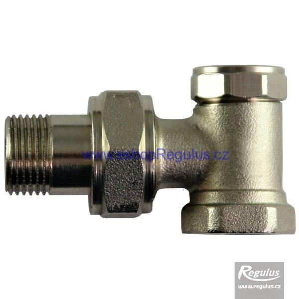 Radiátorový ventil regulační rohový G 1/2'' F