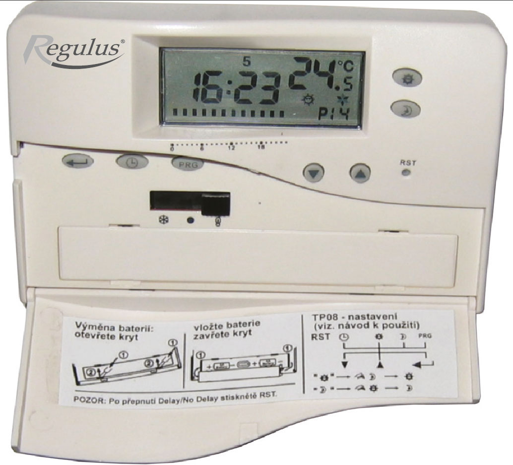 Pokojový termostat TP08