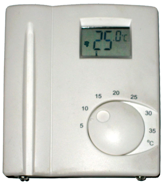 Pokojový termostat TP39 - Regulus, elektronický s displejem, 230V