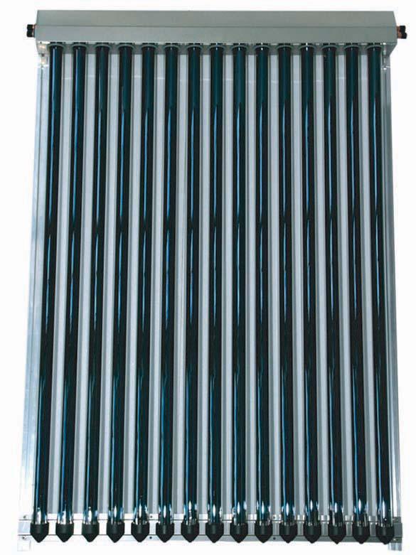 Sluneční kolektor KTU10 vakuový s 10 U trubicemi