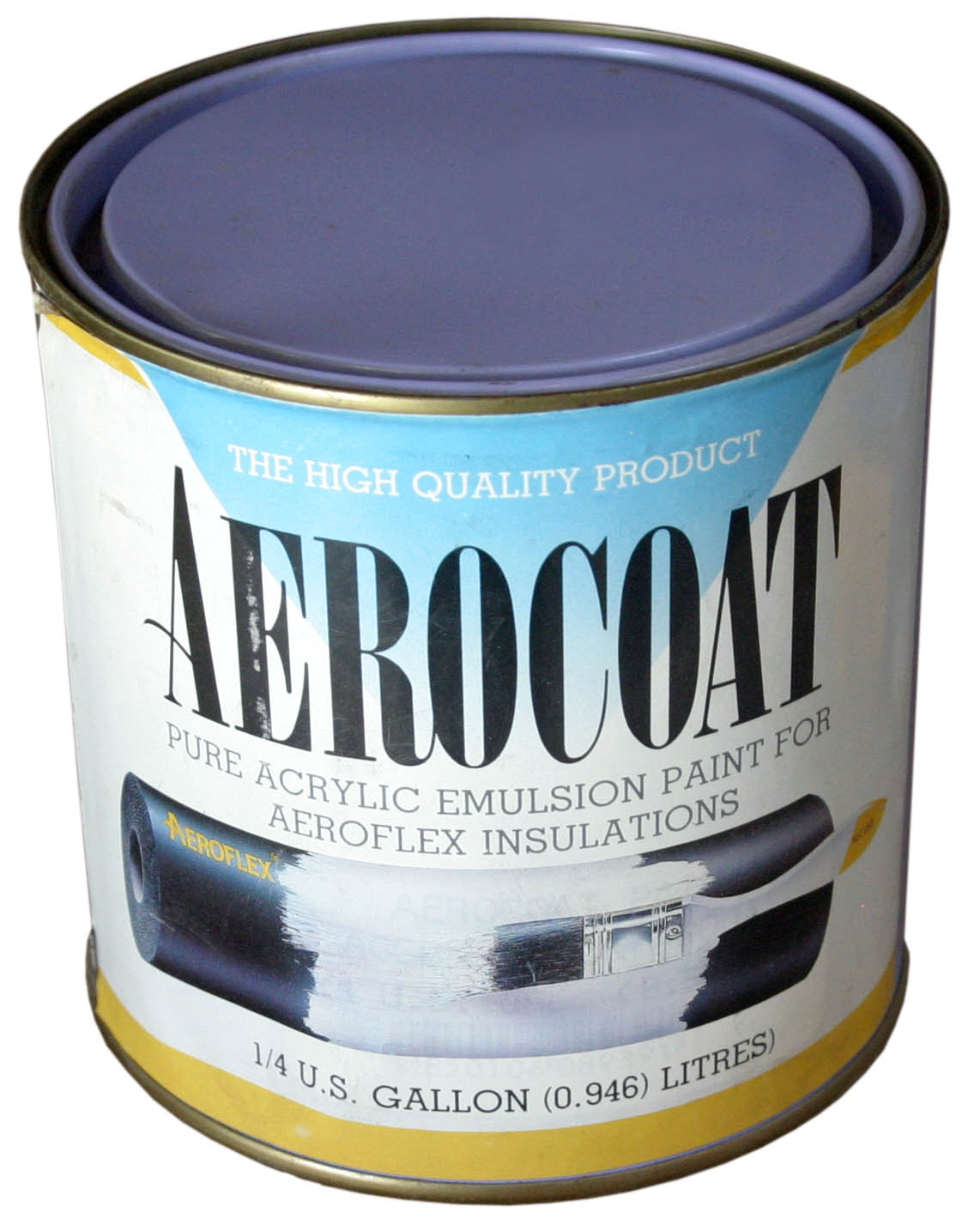 Barva Aerocoat černá 0,95 l