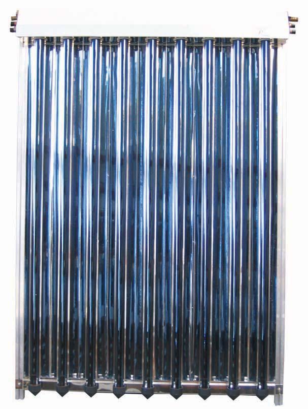 Sluneční kolektor KTU9R vakuový s 9 U trubicemi