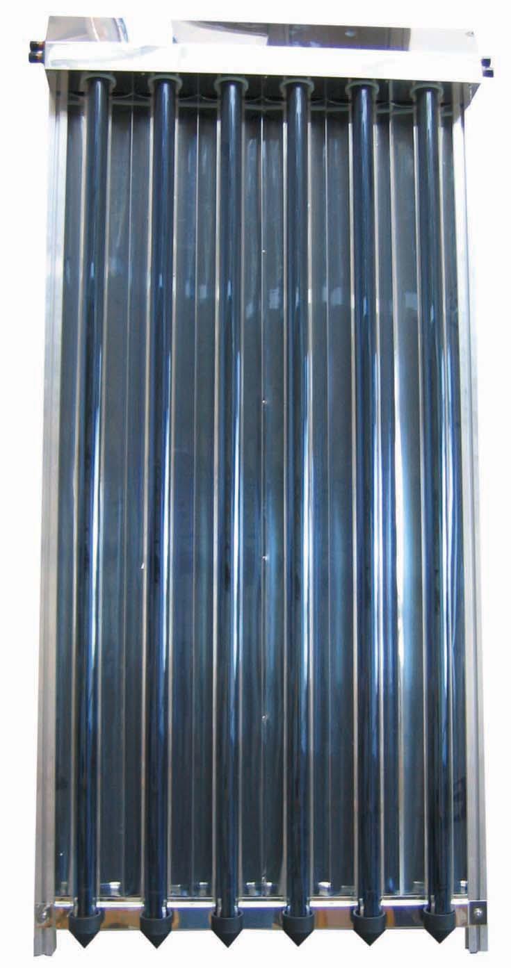 Sluneční kolektor KTU6R vakuový s 6 U trubicemi
