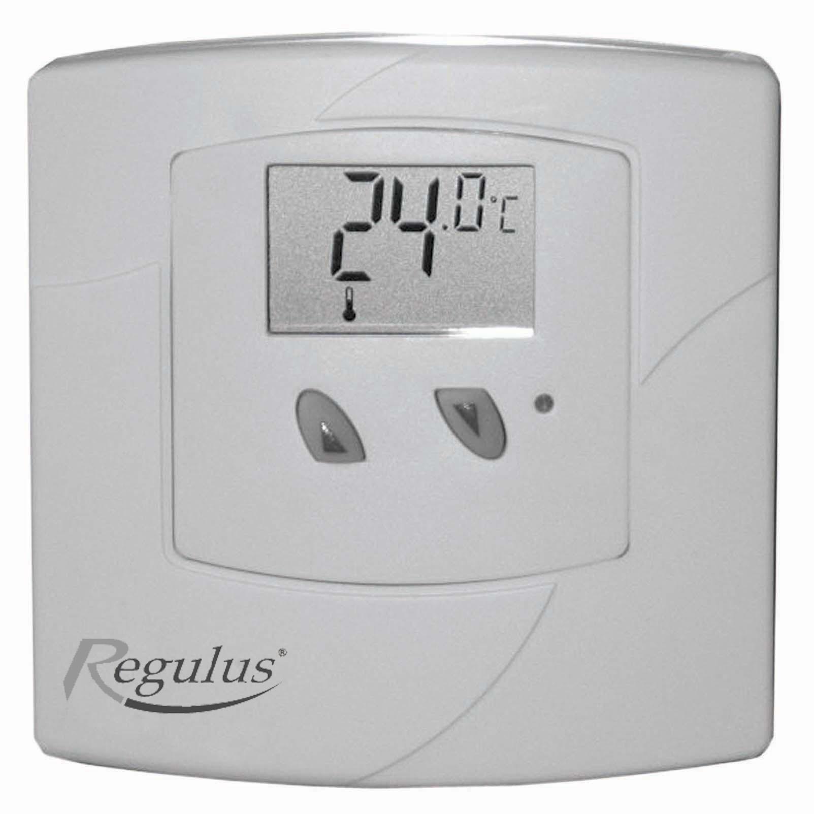 Pokojový termostat TP18-Regulus, elektronický s displejem, 24/230V, AC - baterie