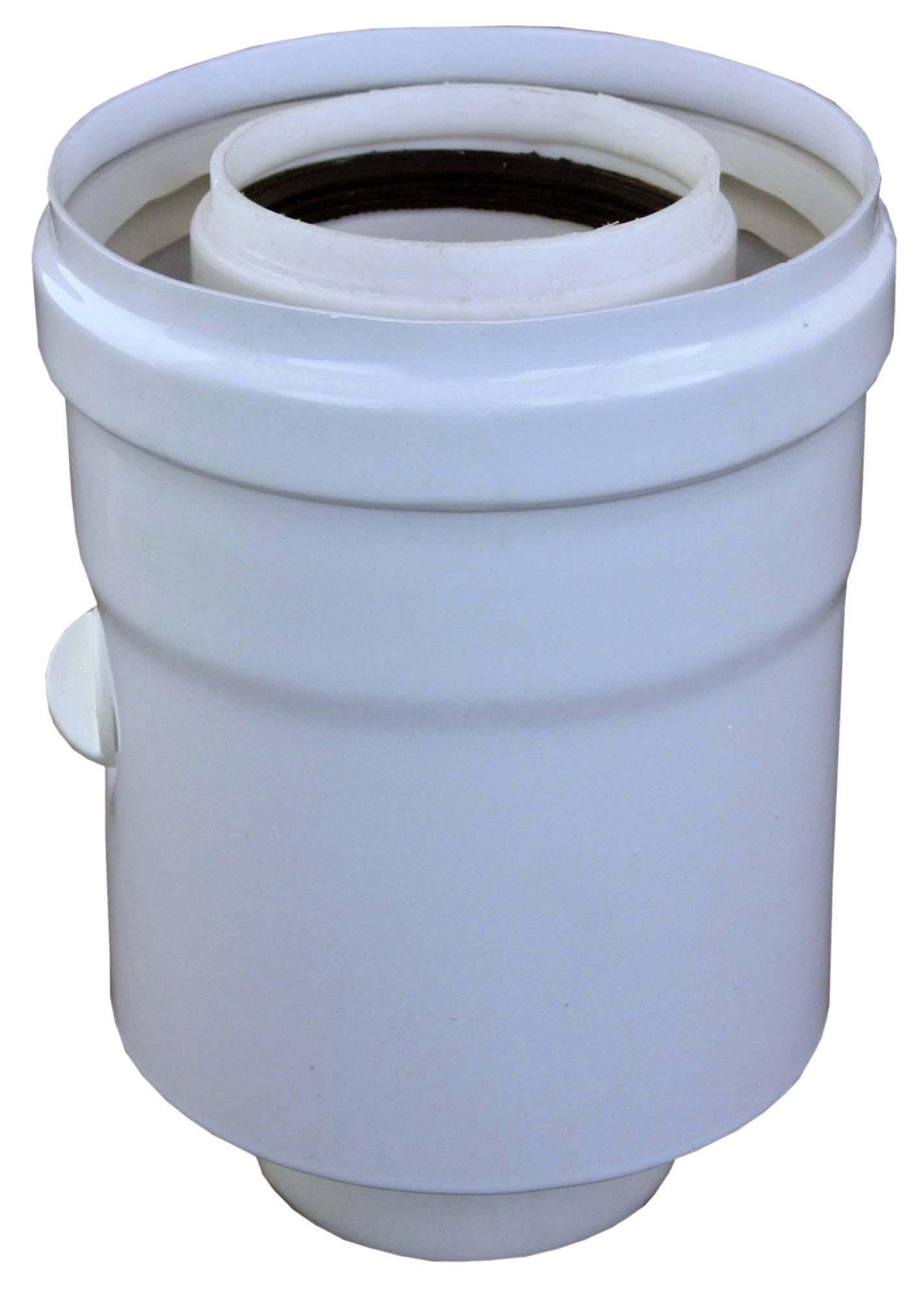 Vsuvka průměr 60/100 mm, PP, do kotle s odběry