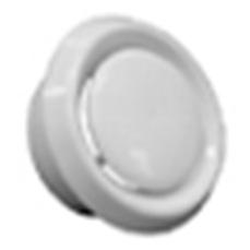 Talířový ventil přívod/odvod vzduchu 125 mm, Větrání s rekuperací tepl
