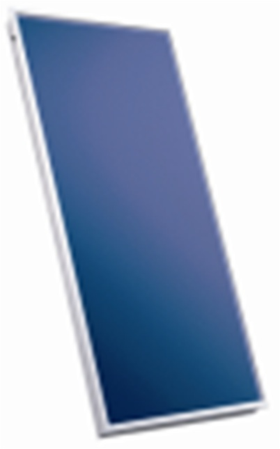 Sluneční kolektor KPW1, antireflexní sklo,121,5 x 215 cm
