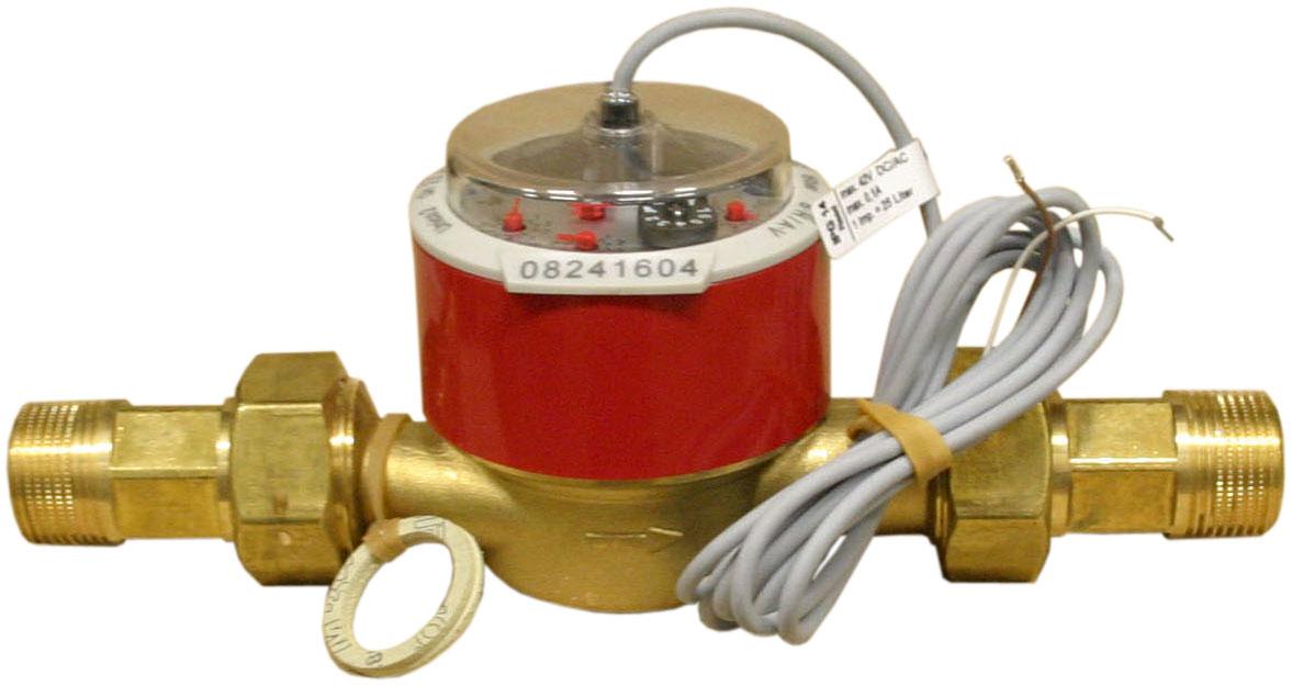 V40-25 - Průtokoměr 50-5000 l/h, DN20 + 2 tepl.čidla FRP30 a jímky, pr