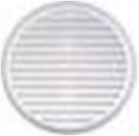 Kruhová mřížka plastová se síťkou proti hmyzu 80-125mm