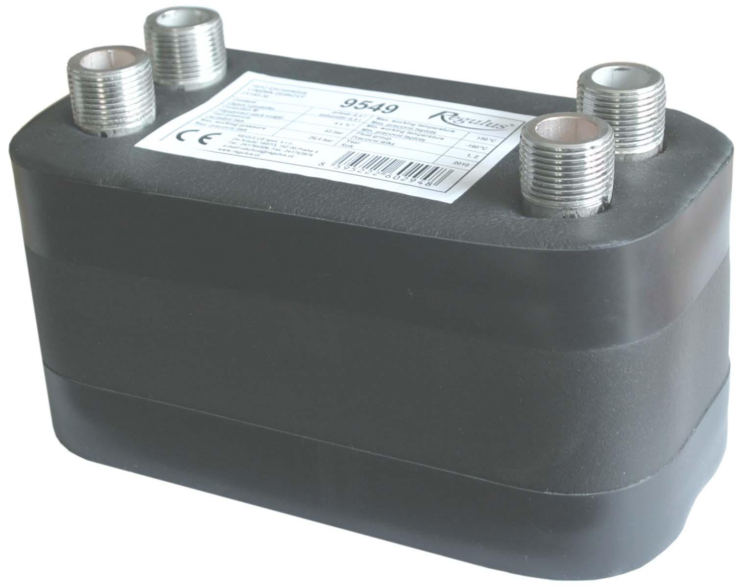 Výměník deskový DV193-30E izolovaný