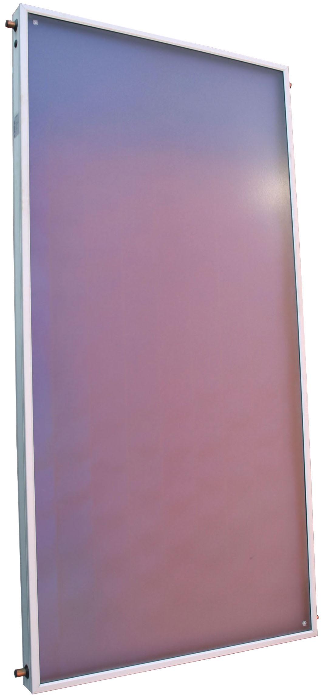 Sluneční kolektor KPA1, prizm.sklo, 100x200x8, přip.4x Cu 22