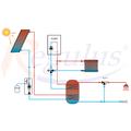 Solární systém Regulus SOL 300 s kondenzačním kotlem 28KD