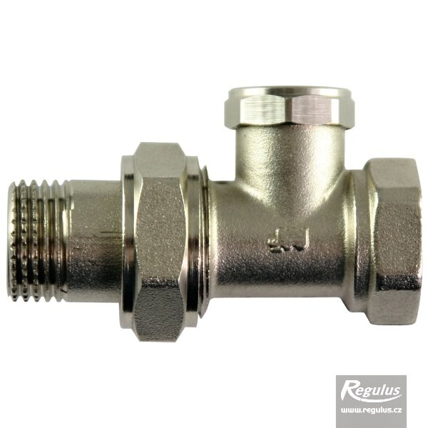 Radiátorový ventil regulační přímý G 3/8'' F