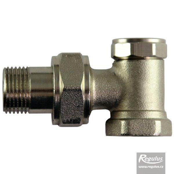 Radiátorový ventil regulační rohový G 3/8'' F