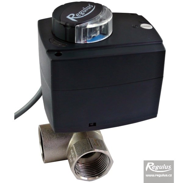Ventil kulový třícestný VZK 315-230-1P R, 1/2'' F, DN15, 60s/90°