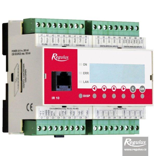 Modul pro propojení tepelného čerpadla s nadřazenou regulací